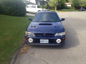 2001 Subaru RS2.5 with a EJ205 motor swap