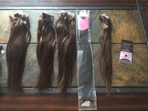 Human hair tape in extensions!