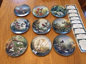 Collector Plates - Flowers of the Canadian Provinces