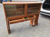 Industrial Teak cabinet/Desk SALE!!!! £30