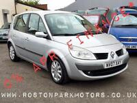 2007 RENAULT SCENIC 1.6 VVT Dynamique 2YR FREE CREDIT OFFER