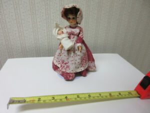 DOLL - Frontier Dresser Doll with Baby