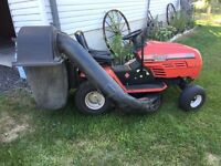 """MTD Riding Lawnmower 18hp-42"""",Double Bagger/Not Running"""