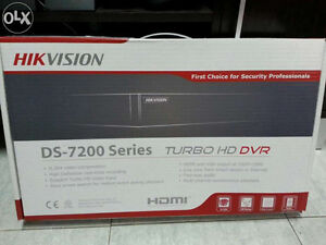 HIK VISION DS-7200 Series TURBO HD DVR - NEW