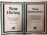Part time / full time Sales associate