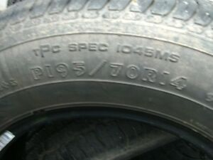 Used 14 inch tires 195/70/14