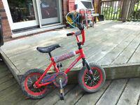 Red Children's Bike