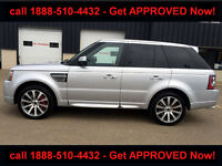 2013 RANGE ROVER SPORT AUTOBIOGRAPHY SUPERCHARDED! LOADED!