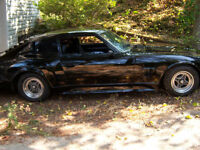 Customized Black 1977 280Z 2X2 Datsun