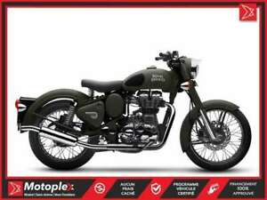 2019 Royal Enfield Classic Battle Green