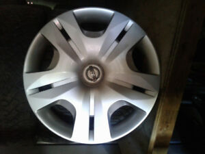 Winter Rims/Tires (4) with OEM Hubcaps from Nissan Versa