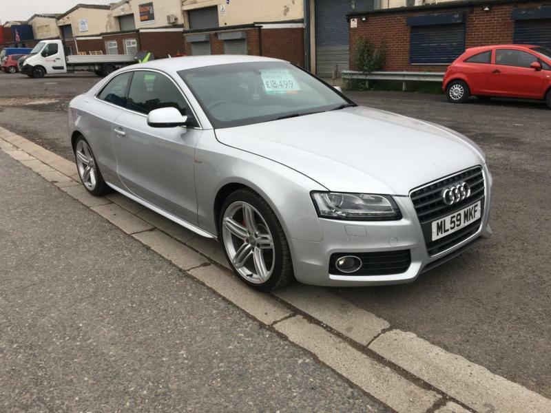 2009 Audi A5 27 Tdi S Line 190ps Multitronic With Paddles In
