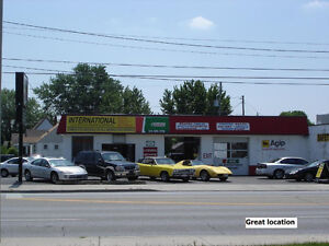 FOR LEASE Used Car Sales Lot-Dealership+Auto Repair Garage Shop
