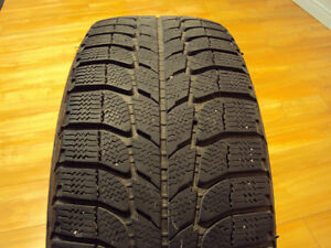 4x Michelin X-Ice Winter Tires 205/65R15 on 4 rims West Island Greater Montréal image 1