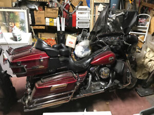 1993 Harley Davidson Ultra Classic, fully chromed and loaded
