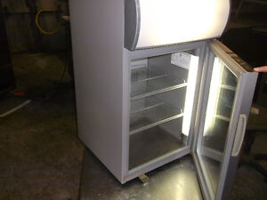 ½ Size Cooler /w Single Glass Door, #1170-14