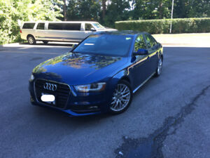 2015 Audi A4 Quattro S-Line - Lease take over (8 Month Left)