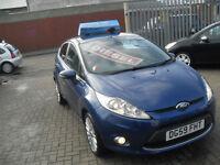 Ford Fiesta 1.6TDCi 2009MY Titanium, ONLY £20 PER YEAR ROAD TAX !