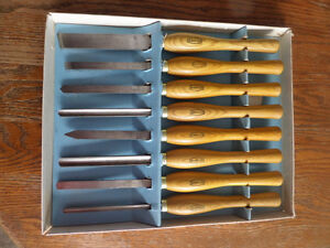 Marples 8-piece Wood Turning Chisels