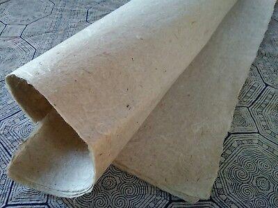 Hemp Handmade Paper 3 Sheets   Cannabis Sativa L   60 Gsm  20 Sq  Trad  Tech