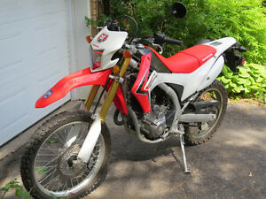 HONDA CRF250L SEMI ROUTE, SEMI TRAIL