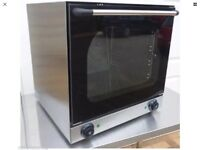 New electric convection oven
