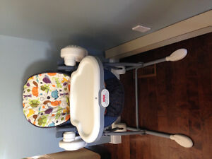 Fisher price swing to high chair
