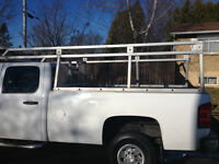Aluminium rack 8 feet,was on a 2007 silverado 3500 hd
