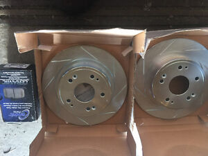 New Acura rear brake rotors and ceramic brake pads Honda brakes Edmonton Edmonton Area image 5