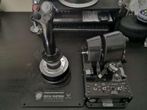 Used Thrustmaster Hotas Warthog Joystick Pack