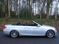 2007 57 BMW 330i 3.0 auto M Sport convertible..VERY HIGH SPEC..STUNNING !!