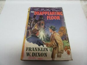 1940 HARDY BOYS DISAPPEARING FLOOR 218 PGS.