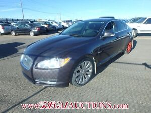 2009 JAGUAR XF BASE 4D SEDAN 4.2L