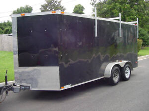 2017 PACE 16'X 7' ENCLOSED TRAILER