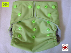 Clearence Sale - 1 One-Size Cloth Diaper With 2 Microfib Inserts
