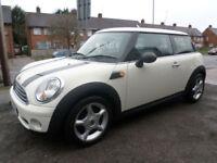 2009 Mini Mini 1.4 First 3DR 59 REG Petrol White