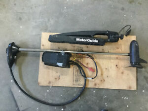 Motorguide 12volt trolling motor with foot control.