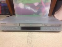 DVD player with control