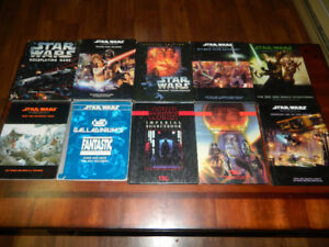 Gros lot de livre Star wars Roleplaying game, Dungeon et Dragon
