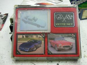 Cartes de collection de Corvette