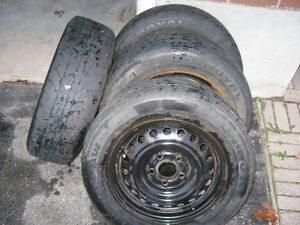 **** Rims and Uniroyal Tiger Paw tires *** Kitchener / Waterloo Kitchener Area image 3
