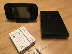 WiiU Great condition with games + gamecube adapter for SmashBros