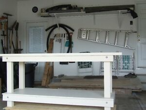 Heavy Duty Garage Workbench
