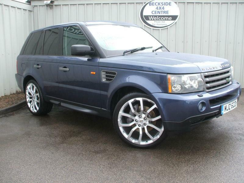 2007 57 reg land rover range rover sport 2 7 tdv6 auto hse blue in bradford west yorkshire. Black Bedroom Furniture Sets. Home Design Ideas
