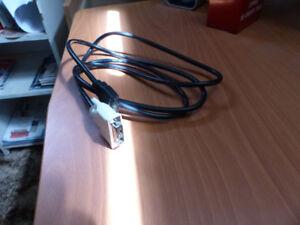 2 Câbles de connexion de moniteur à vendre