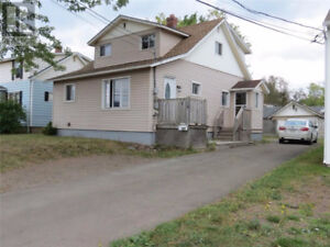 Avail now 5 Bedroom house Central Moncton garage +Storage