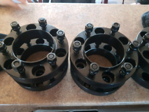 """6x5 wheel spacers for toyota or chev 1.5"""""""