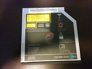 IBM Lenovo FRU P/N 39T2687 CD-RW DVD-ROM Optical Disk Drive