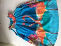 Ted baker stunning vibrant dress