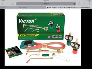 """BRAND NEW VICTOR PERFORMER TORCH KIT"""